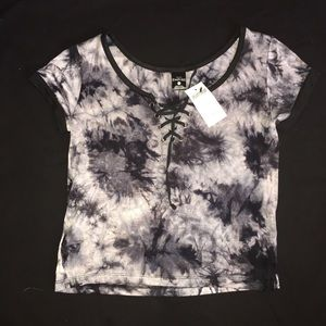 Zumies Empyre Lace Up Crop Top